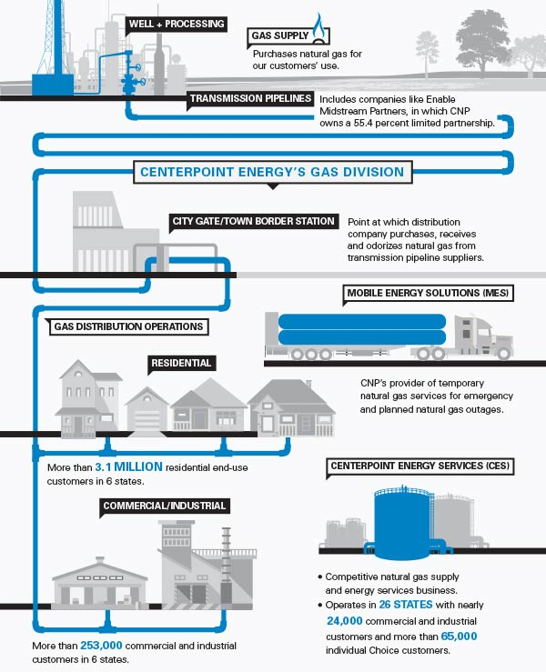 Understanding Natural Gas Pipelines Infographic